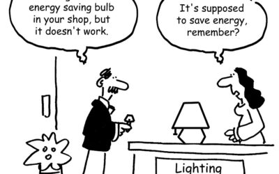 """My client recently got told """"NOT"""" to buy LED lighting – Inside a lighting shop!"""