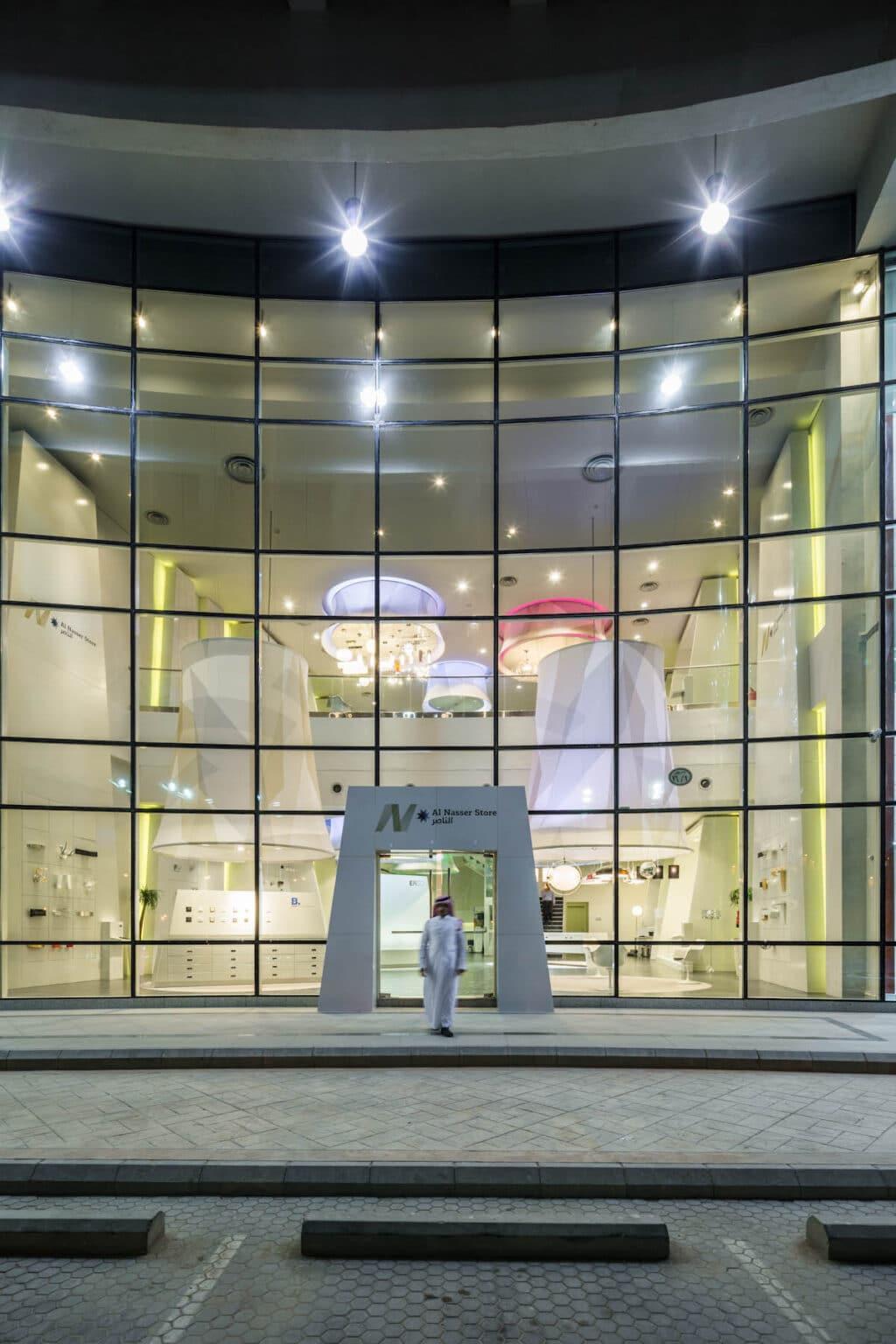 Al Nasser Lighting Showroom Saudi